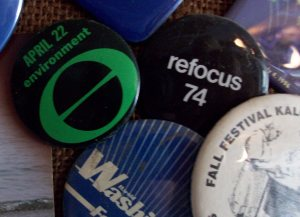 1970 Earth Day Button