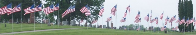 Oakland Cemetery on Memorial Day