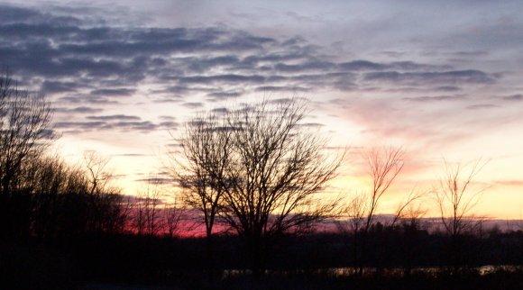 Sunrise Over Lake MacBride