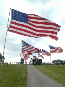 Memorial Day Flags 2012
