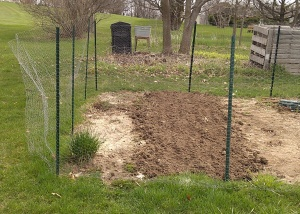 Three Rows Planted Today