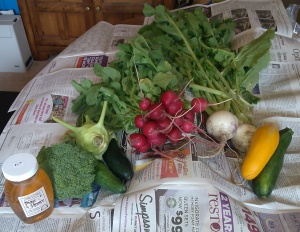 Saturday Farmers Market Produce