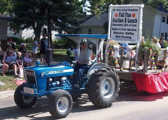 blue tractors,