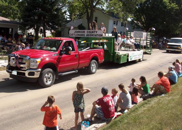 Don't forget it's the Beef Days parade...