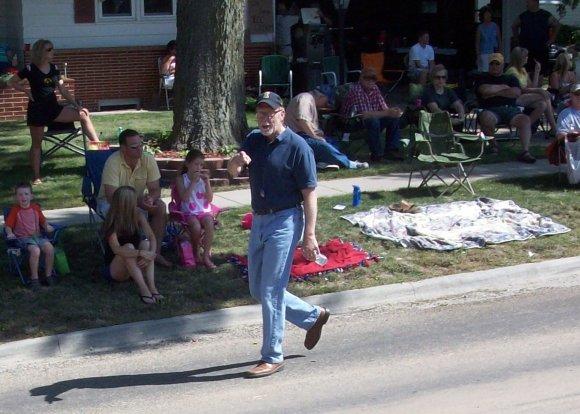 Congressman Dave Loebsack was there...