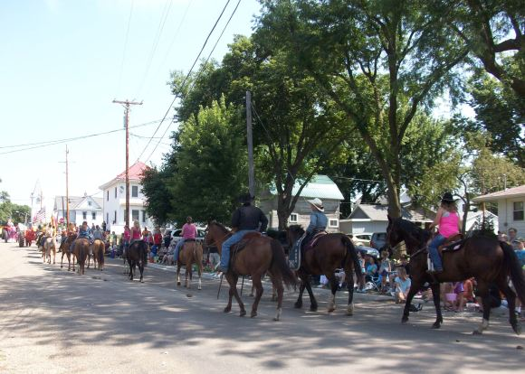... and there were a lot of them to end the parade.