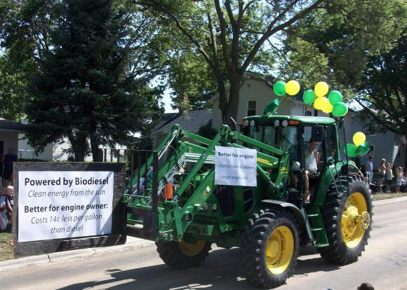 ... and don't forget that other green tractor.