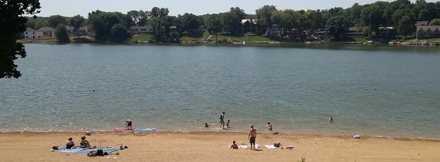 Lake Macbride Beach