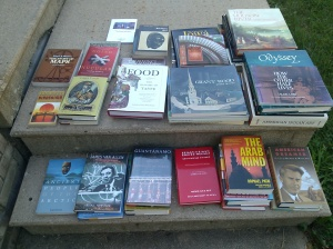 Books from the Library Sale