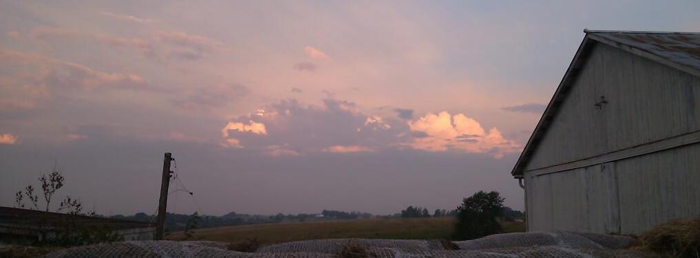 Western Sky at Sunrise