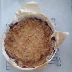 Tart Cherry Coffee Cake