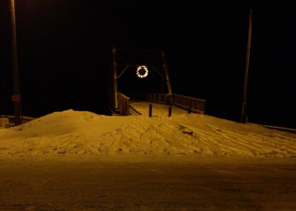 Sutliff Bridge at Night