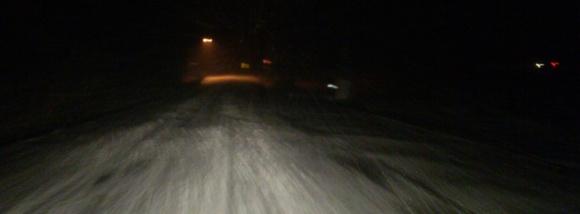 Snowfall in Big Grove