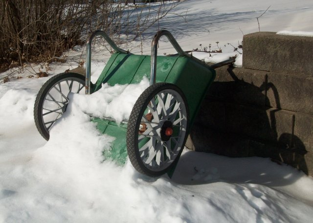 Garden Cart in Winter