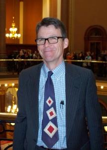 State Senator Joe Bolkcom (D-Iowa City)