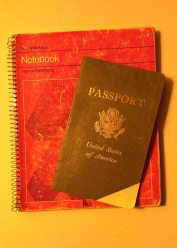 Notebook and Passport