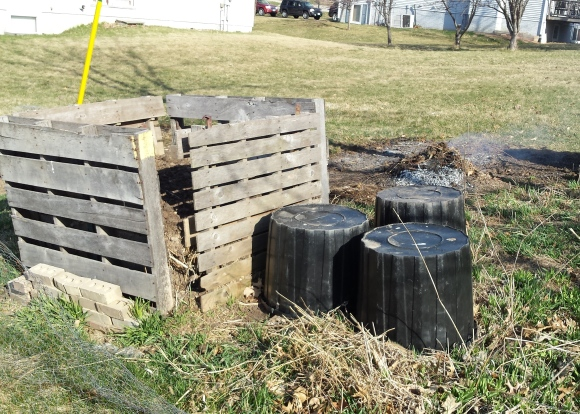 Burn and Compost Piles