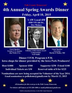Polk County Awards April 10