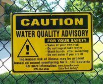 Bacteria Notice on Lake Macbride