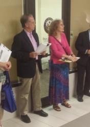 David Leshtz and Maureen McCue