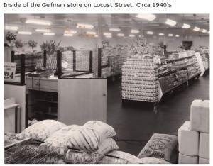 Geifman Food Store on Locust