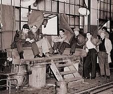 Flint Strike 1937 - Photo Credit Wikimedia Commons