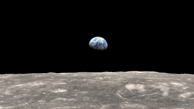 Earthrise Dec. 24, 1968