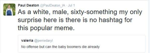 Boomers Die