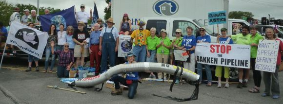 Group Shot at the Coralville, Iowa Independence Day Parade Photo Credit: Ed Flaherty