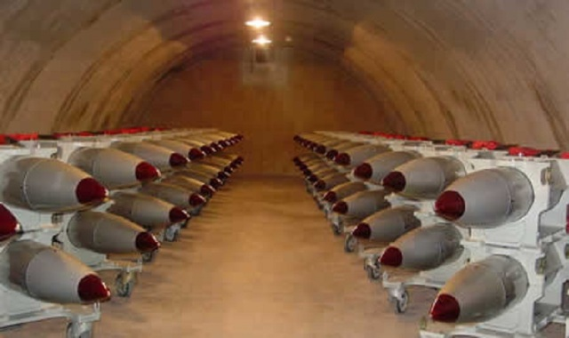B-61 Nuclear Bombs in Storage