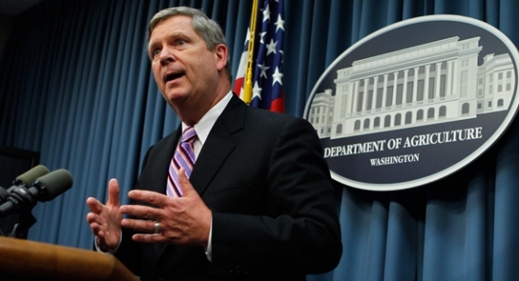 U.S. Department of Agriculture Secretary Tom Vilsack