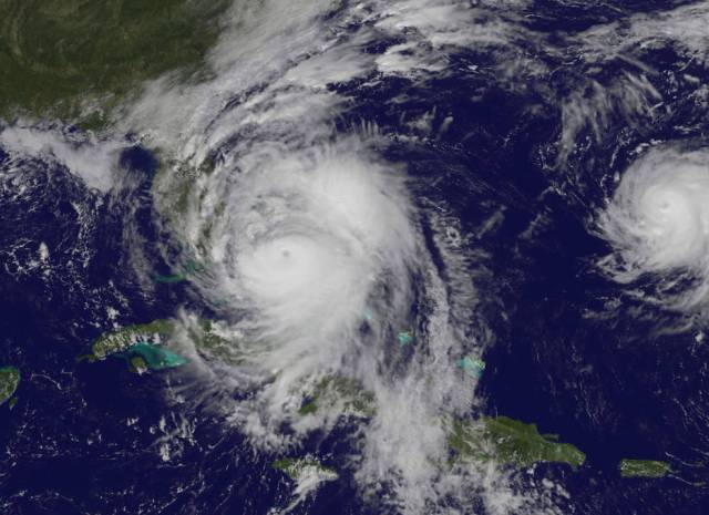 Hurricane Matthew Oct. 6, 2016 Photo Credit - NASA/NOAA GOES Project