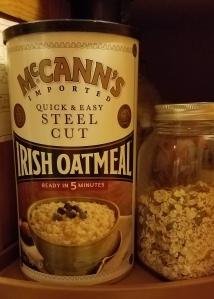 McCann;s Steel Cut Irish Oatmeal