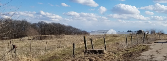 Sundog Farm in Late Winter